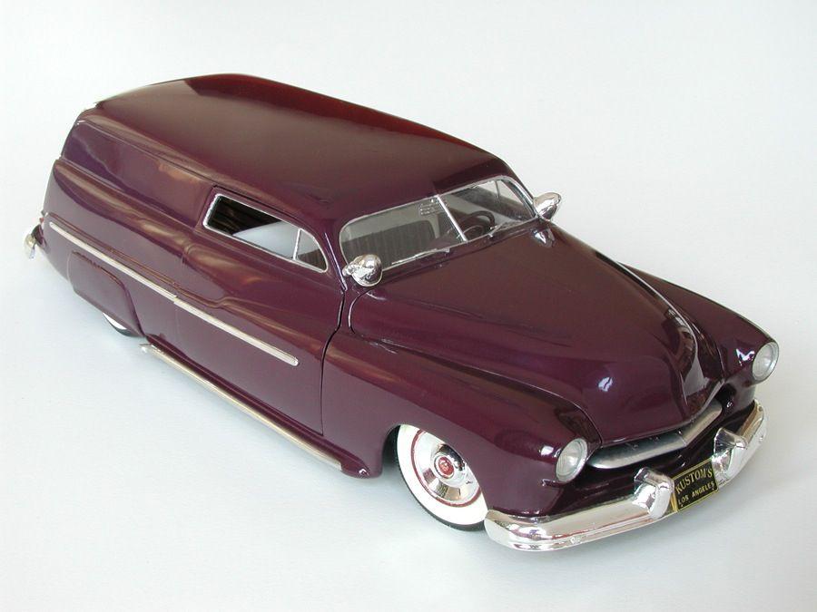 49 Mercury (With images) Car model, Plastic models