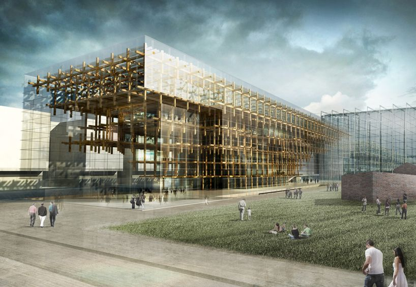 Mdu Architetti Helsinki Central Library Proposal Library