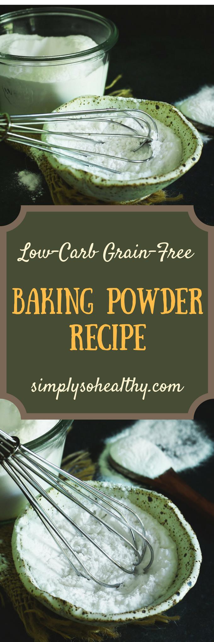 Low-Carb Baking Powder | Recipe | Baking powder recipe ...