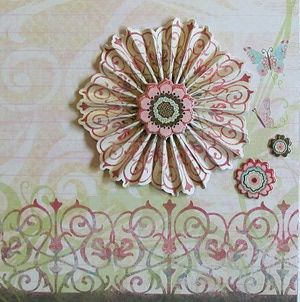 Diy flat paper flowers for crafting accordion fold rosettes and diy flat paper flowers for crafting mightylinksfo