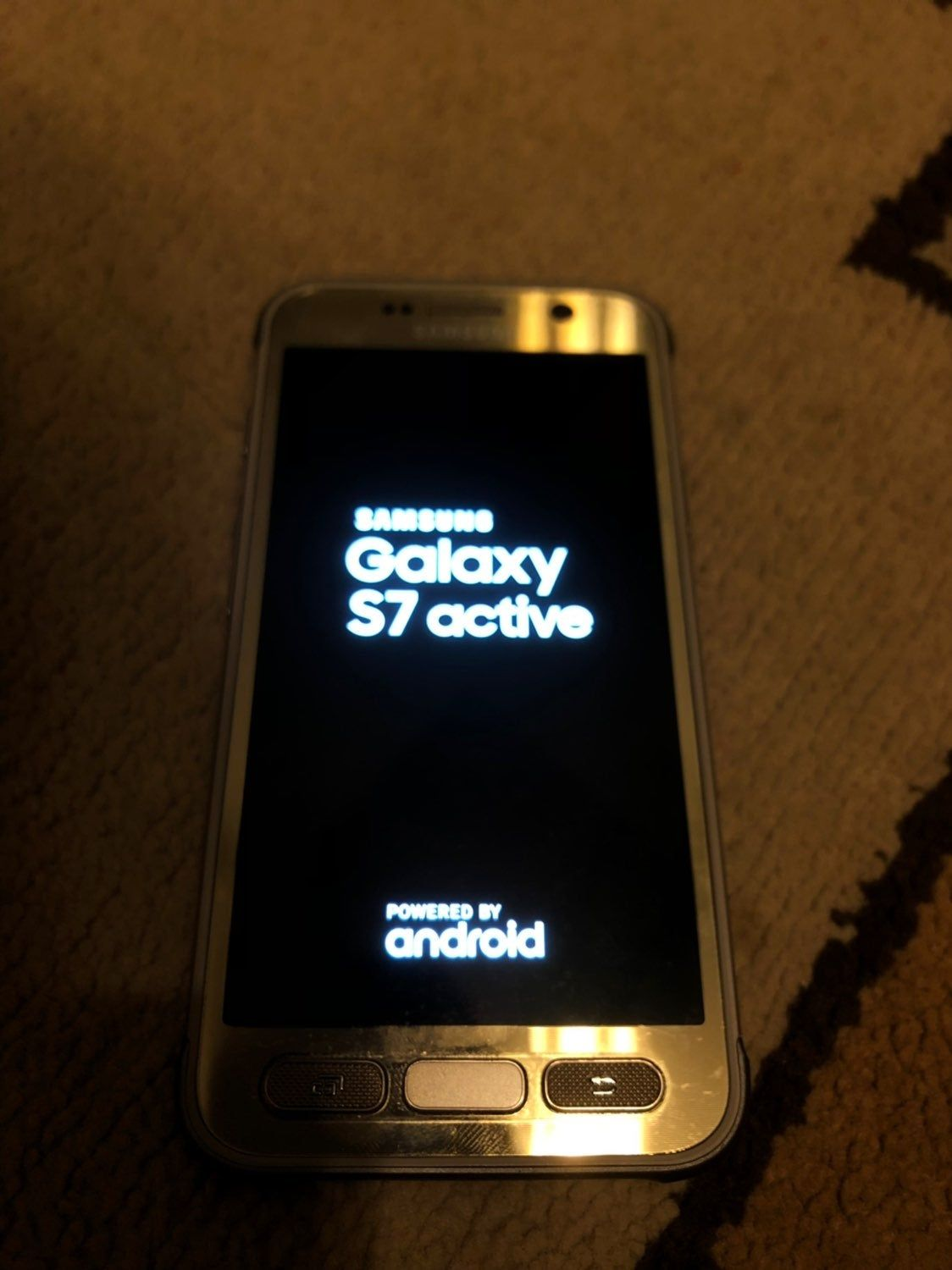 Like New Samsung Galaxy S7 Active It Was Used For A Week Then We Got New Phone And New Cell Provider Great Phone Samsung Galaxy S7 Samsung New Samsung Galaxy