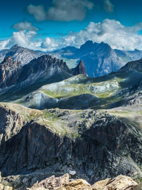 Barcelonnette Ubaye Vallee Superbe Ambiance Sur Le Vallon De Chillol Depuis Le Pas De Chauvet Ubaye Alpes Rando Natura