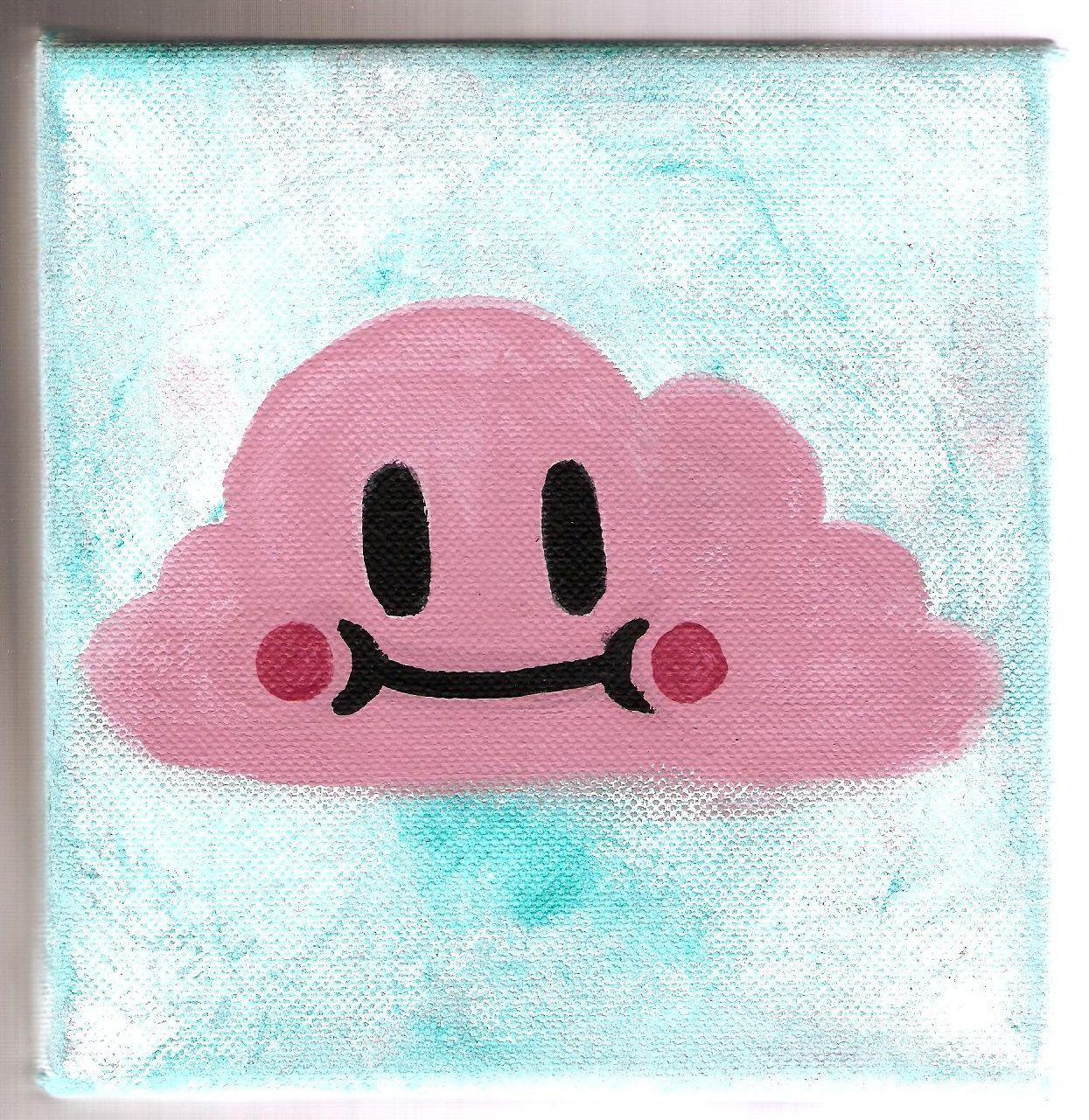 Happy Little Cloud. $15.00, via Etsy.