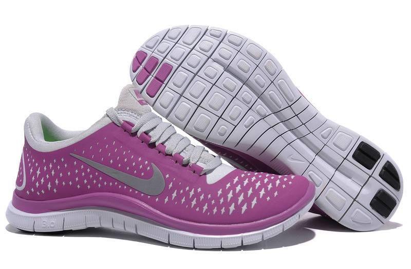 NEW Nike Free 3.0 V4 Purple Gray Running Walking schuhe