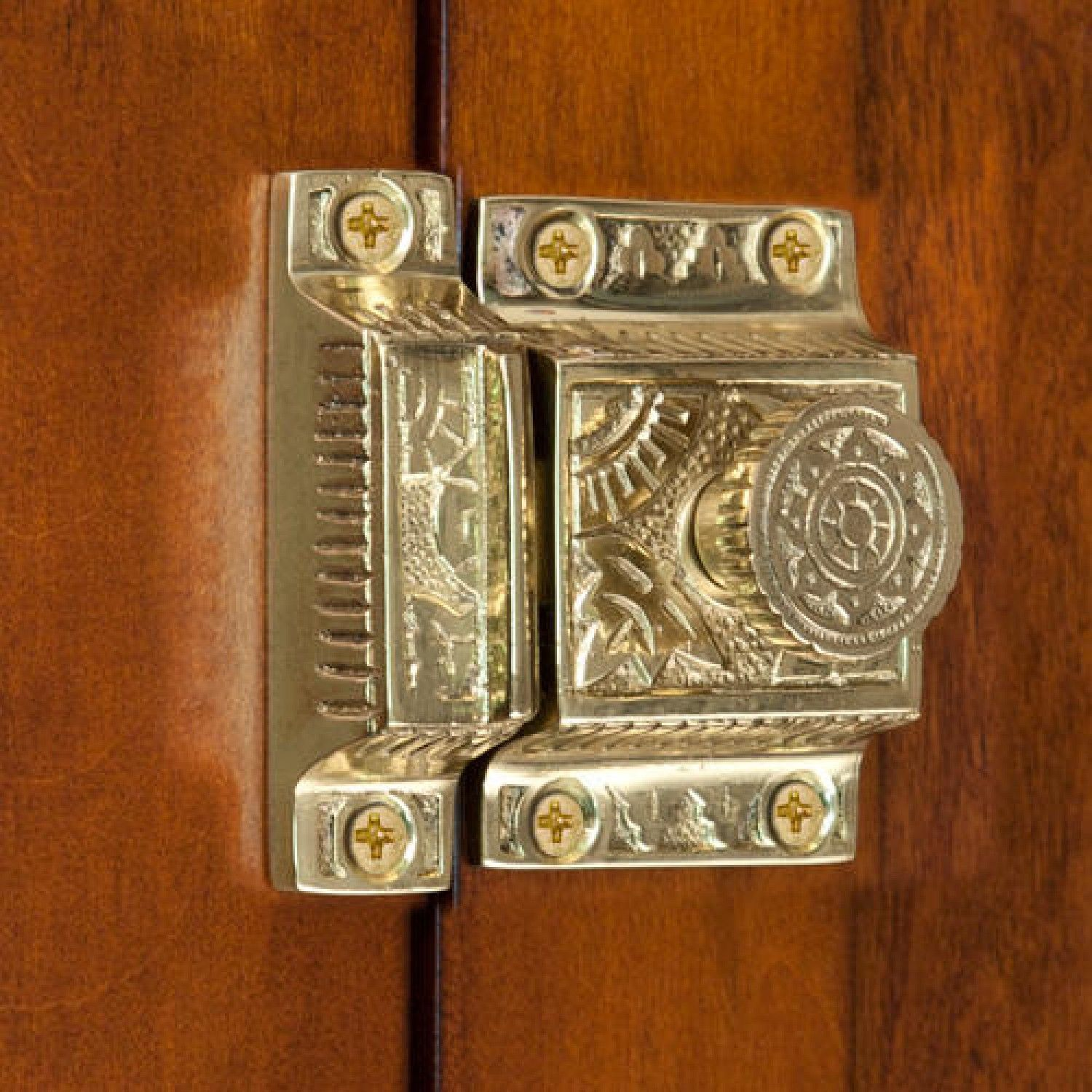 industries oc style old cliffside turn sbcl latch cabinet copper