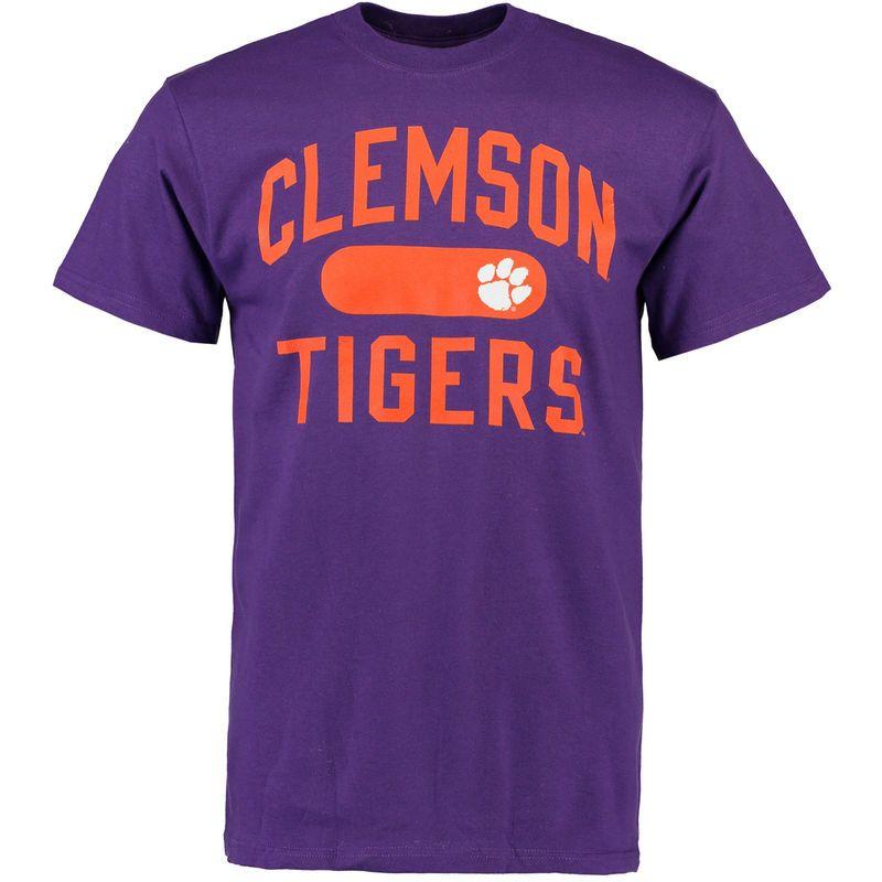 Clemson tigers athletic issued tshirt purple clemson