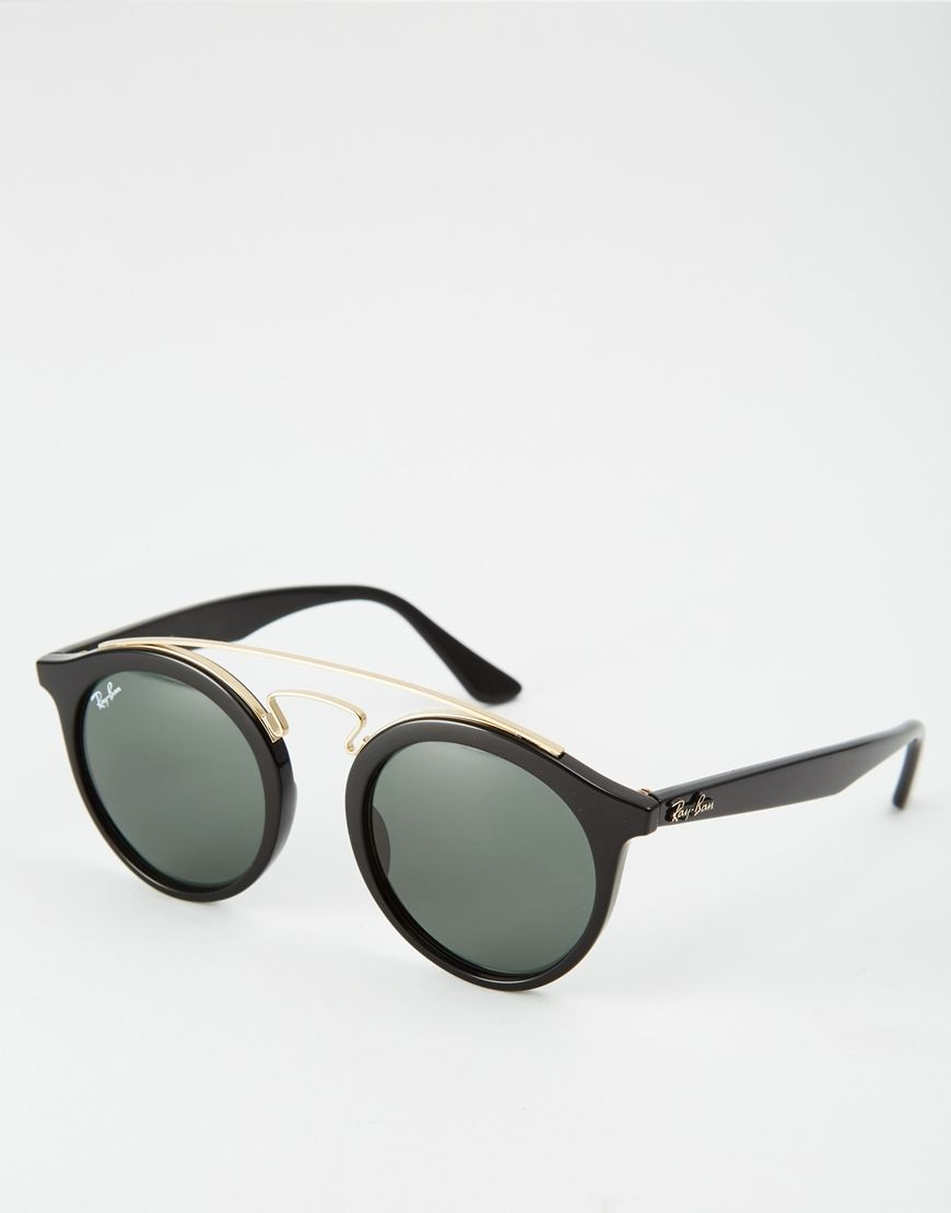 Gafas de sol redondas Gatsby RB4256 de Ray-Ban   Collage   Pinterest ... 10d2c067ab