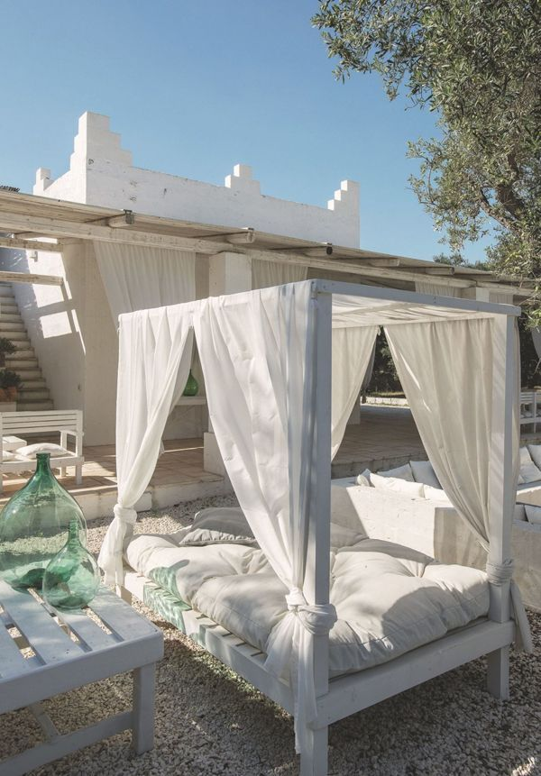 This beautiful historic country house located in Puglia, Italy, is idyllically surrounded by 30,000m2 of private grounds with olive groves and vineyards. Masseria Scorcialupi is a 18th century villa w