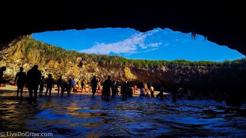 Beach Swim To The Hidden At Las Marietas