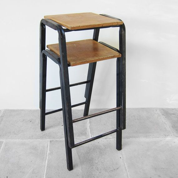 Wondrous 1950S Vintage School Science Lab Stools Perfect Industrial Ocoug Best Dining Table And Chair Ideas Images Ocougorg