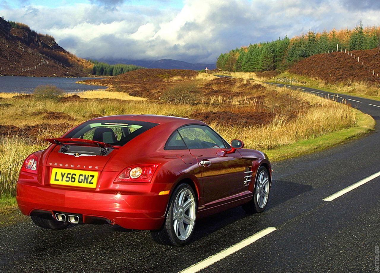 2007 Chrysler Crossfire UK Version