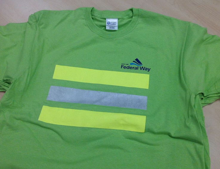 Safety T-shirts for City of Federal Way
