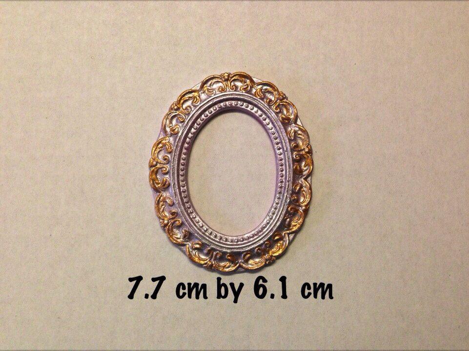 Frame Silicone Mold Medium Silicone Molds Vintage Frames Frame