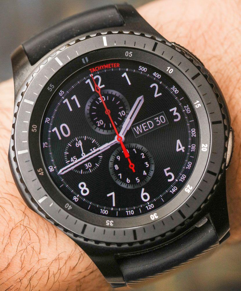 Samsung Gear S3 Smartwatch Review Design Functionality Ablogtowatch Smart Watch Beautiful Watches Hand Watch