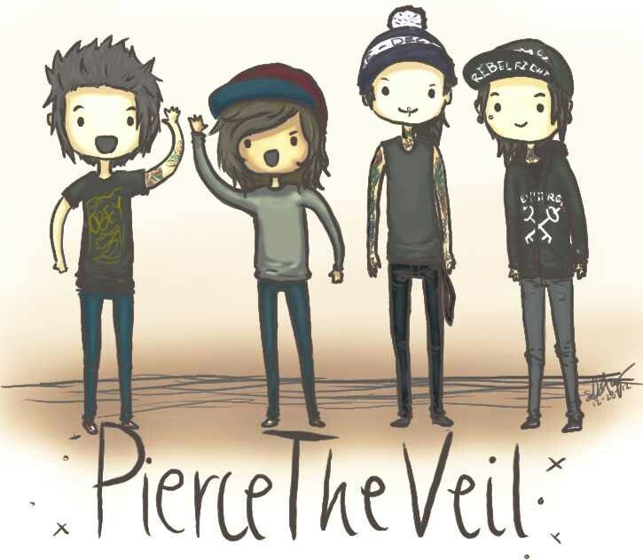 Pierce The Veil: Sexicans by SlicedBerry-Pro on DeviantArt