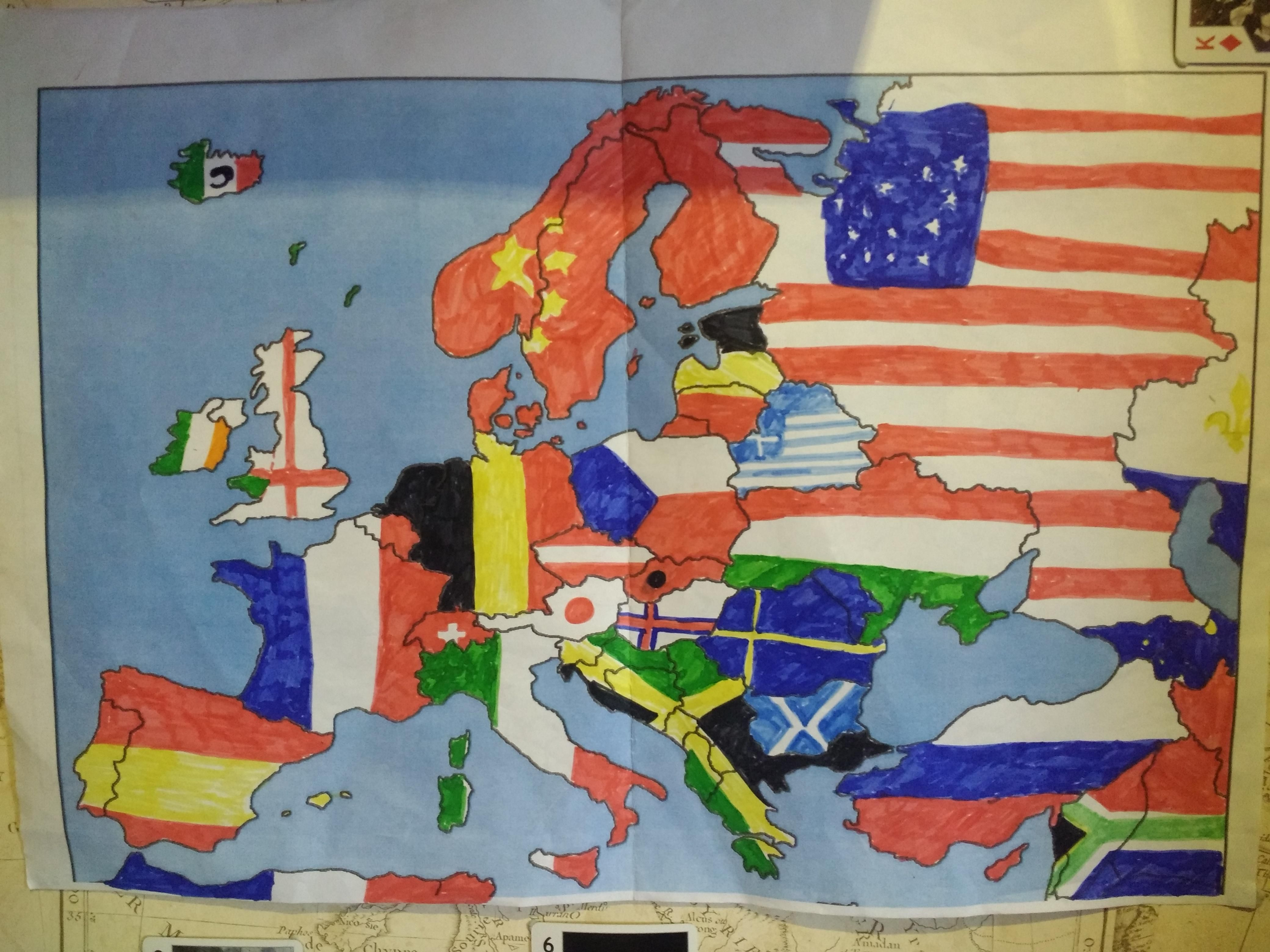 WHO DRAW THIS MAP AND WHY!? Art lesson plans, Book art