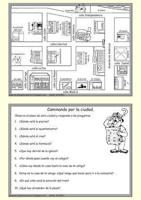 Me encanta escribir en español: Caminando por la ciudad (las ...