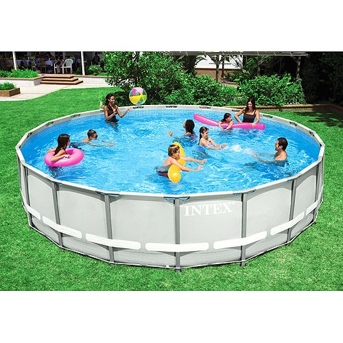 I want this intex 20 39 x 48 ultra frame backyard above - Above ground swimming pools walmart ...