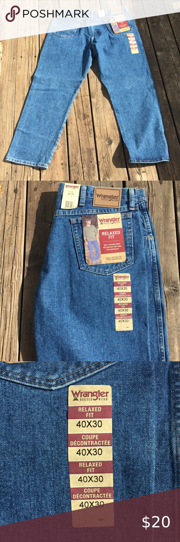 Wrangler Rugged Wear Relaxed Fit Men S Jeans How To Wear Relaxed Fit Clothes Design