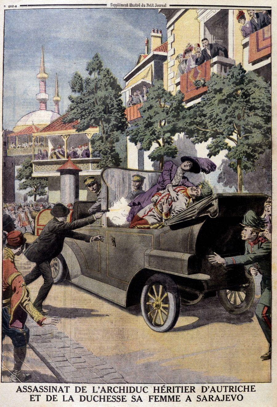 Auslöser 1 Weltkrieg