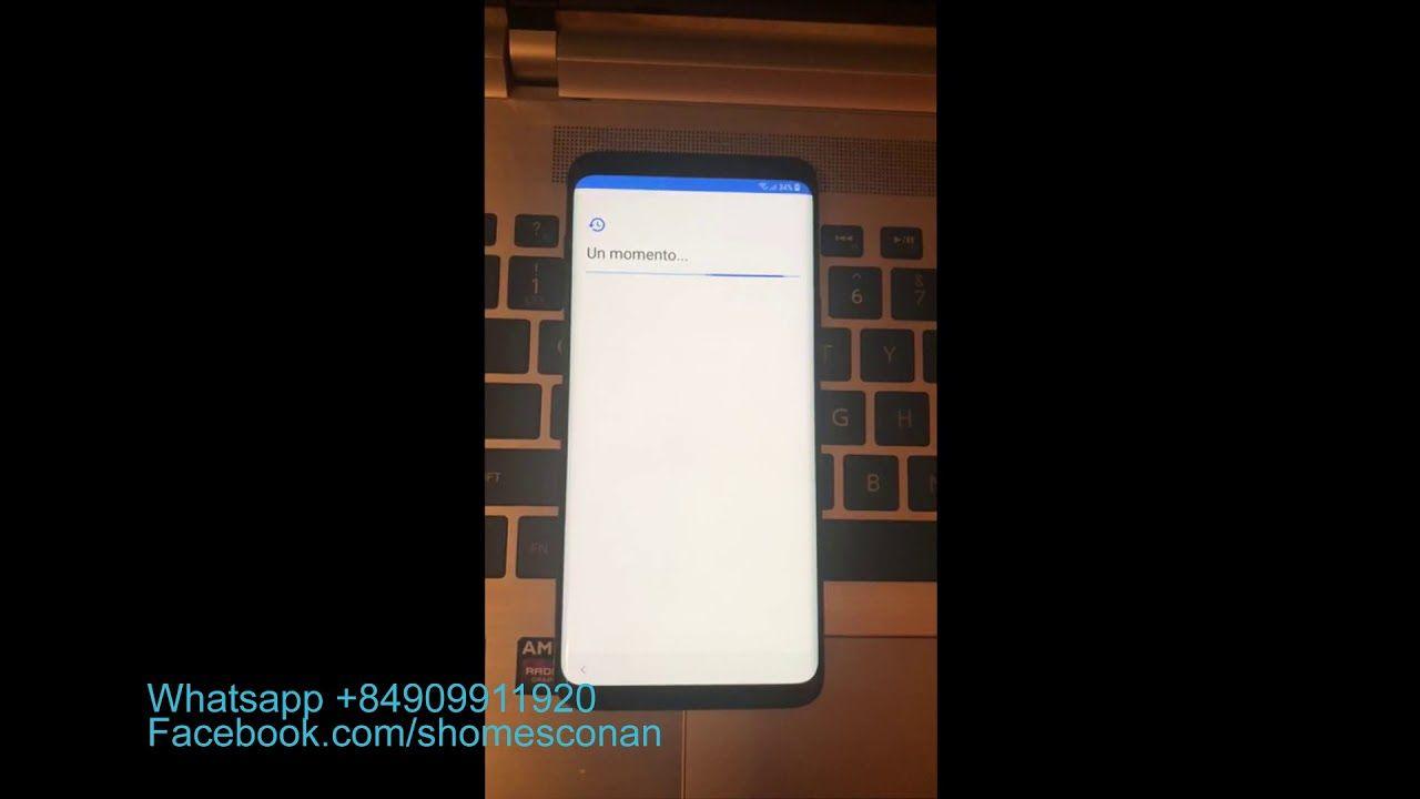 Remove google account FRP lock Samsung Galaxy S9 Plus G965U1