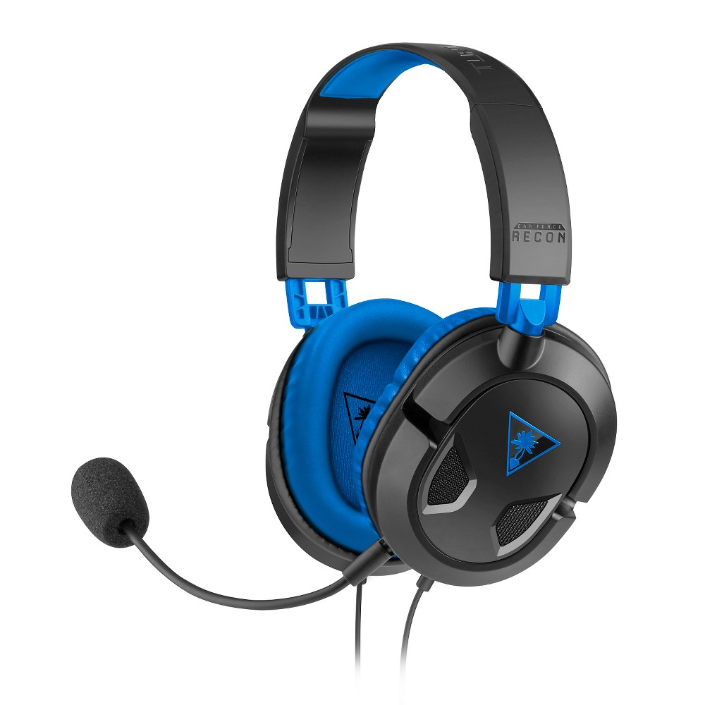 Turtle Beach Recon 60P Amplified Stereo Gaming Headset for PlayStation 4, Black