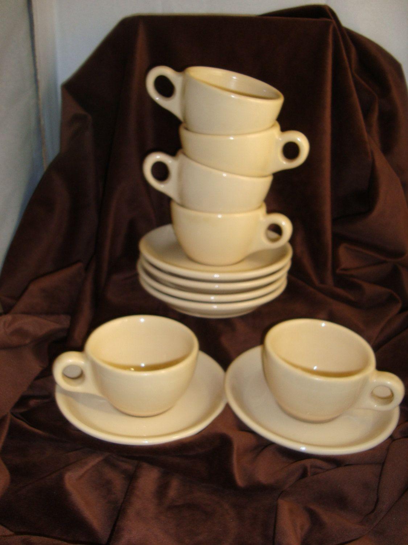 Vintage 50\u0027s Buffalo China Restaurant Coffee Cup and Saucers. $24.00 via Etsy. & Vintage 50\u0027s Buffalo China Restaurant Coffee Cup and Saucers. $24.00 ...