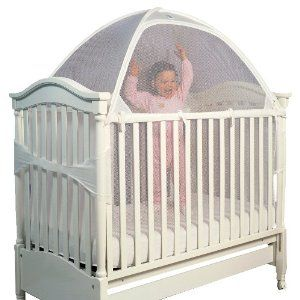 hehe- keep kitties away from baby. Tots In Mind Cozy Crib Tent II White  sc 1 st  Pinterest & I know this looks totally weird but itu0027s a crib tent. Itu0027s made ...