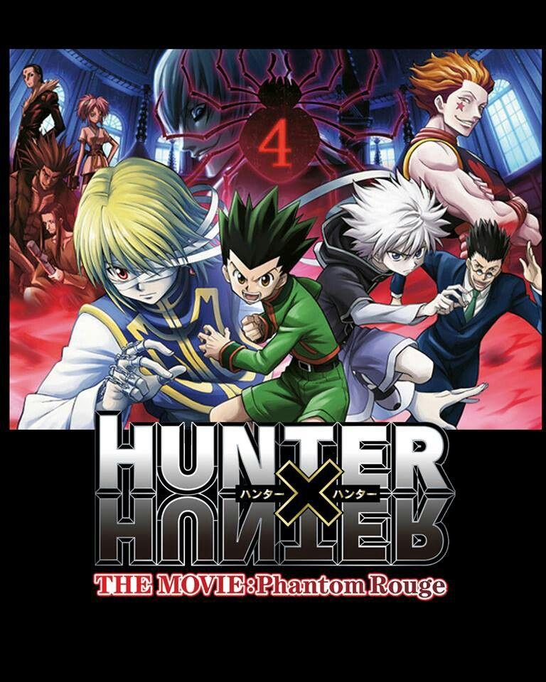 Hunter X Hunter The Movie Phantom Rouge Hunter X Hunter Anime Anime Films