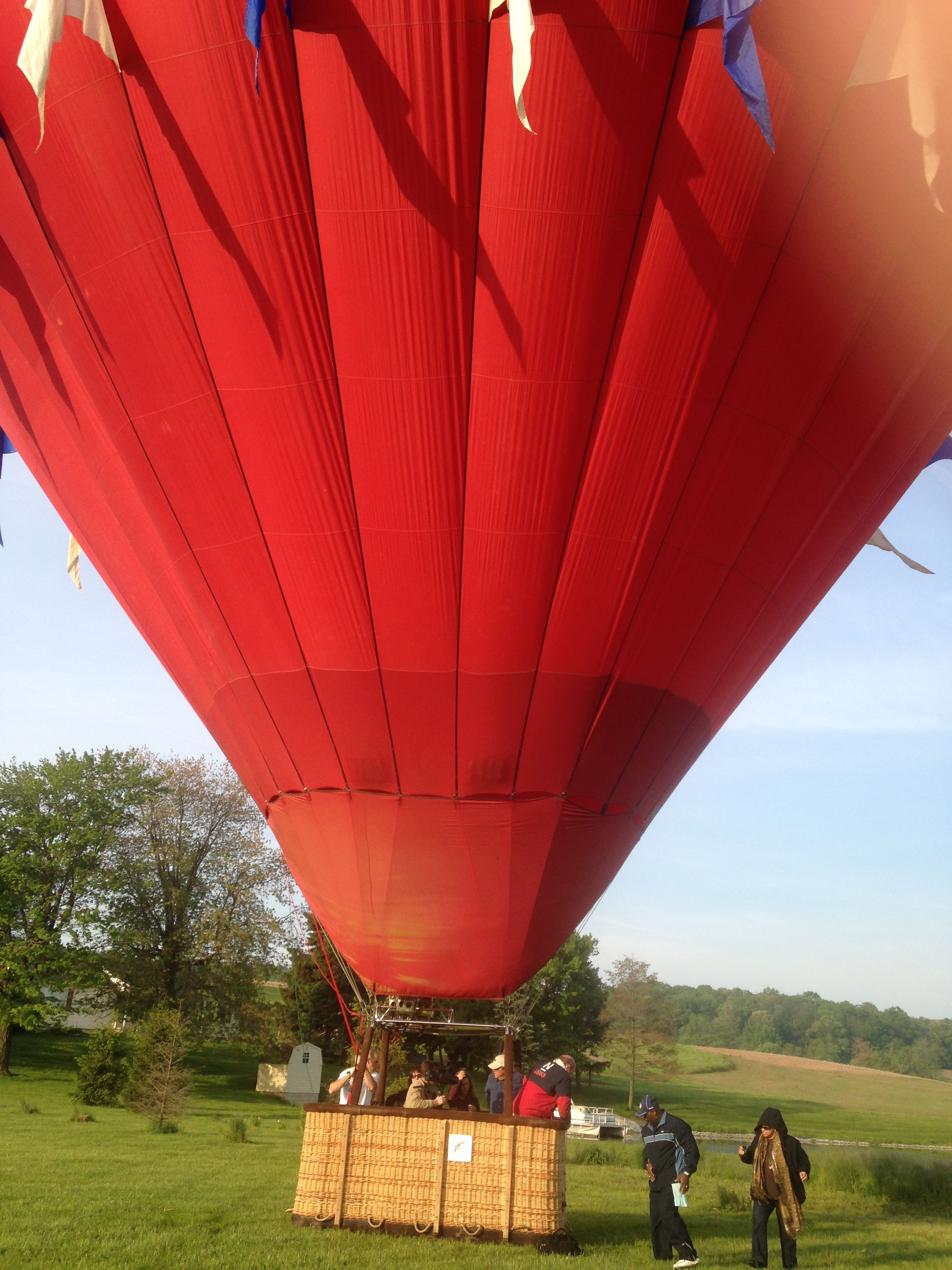 What a way to start the morning! Balloon Rides Daily by