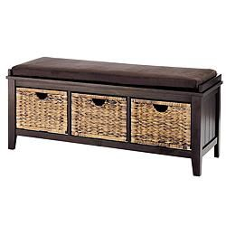 For Living Verona Wicker Entrance Bench Canadian Tire I Need - Canadian tire bedroom furniture