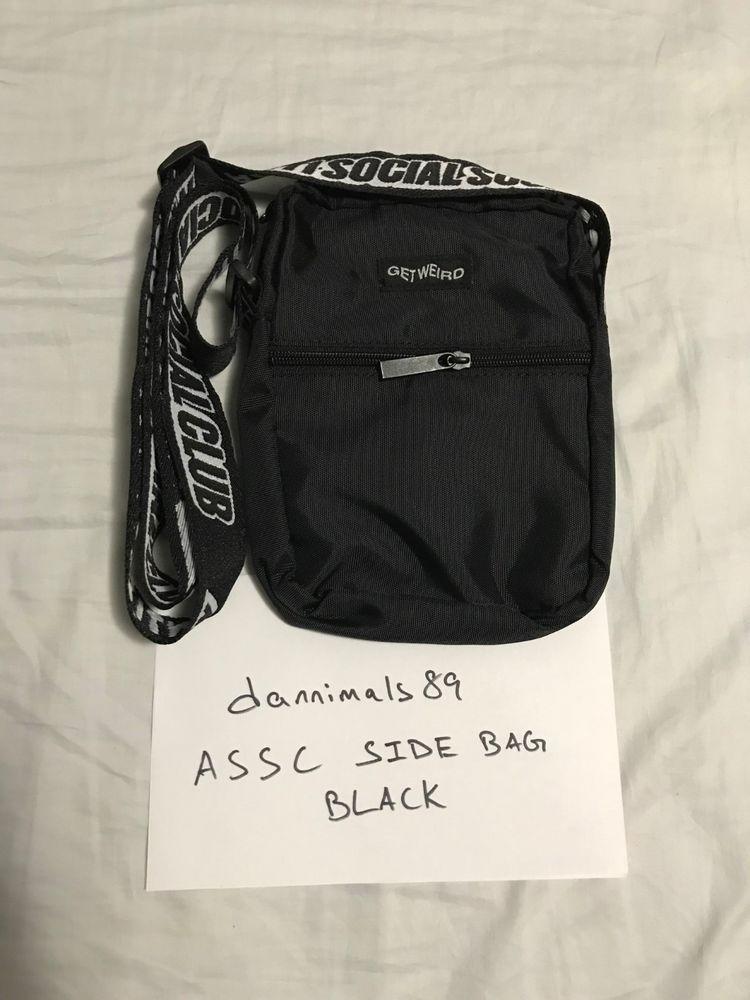 0f3f967f1 Anti Social Social Club ASSC Side Bag Shoulder Bag Black F/W 2018 NEW  SUPREME #fashion #clothing #shoes #accessories #unisexclothingshoesaccs ...