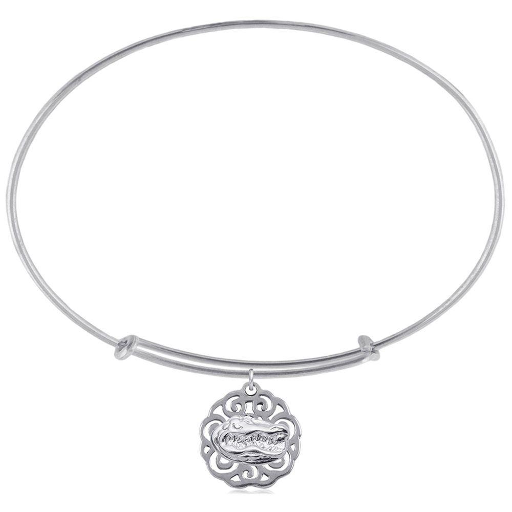 Womenus dayna designs silver florida gators filigree bracelet my