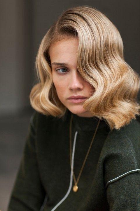 Eskimeyen Trend Su Dalgasi Sac Modelleri Retro Sac Modelleri Curly Hair Styles