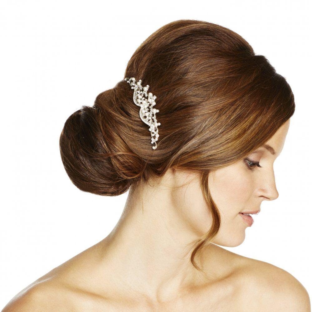 jon richard isabella pearl and crystal hair comb - jon