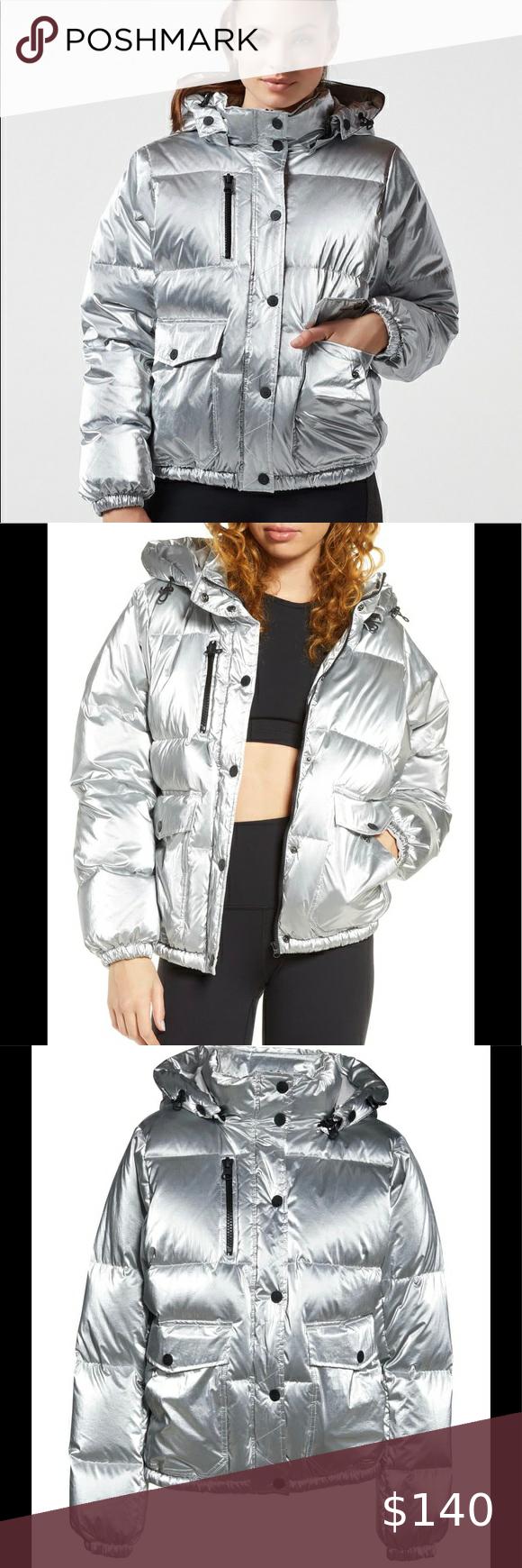 Blanc Noir Mont Blanc Down Puffer Jacket Silver Xs Clothes Design Fashion Outfits [ 1740 x 580 Pixel ]