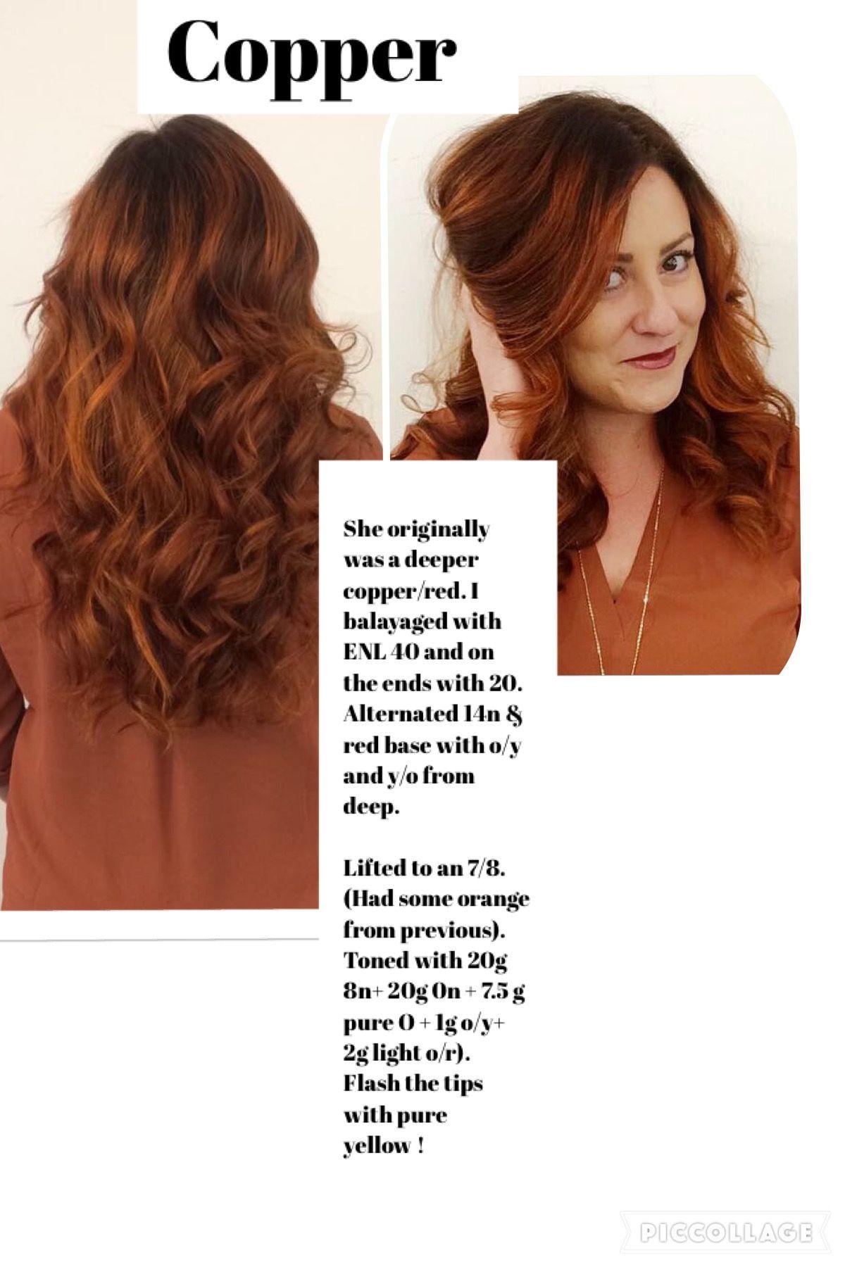 Copper Ginger Hair Color Aveda Hair Color Hair Color Formulas