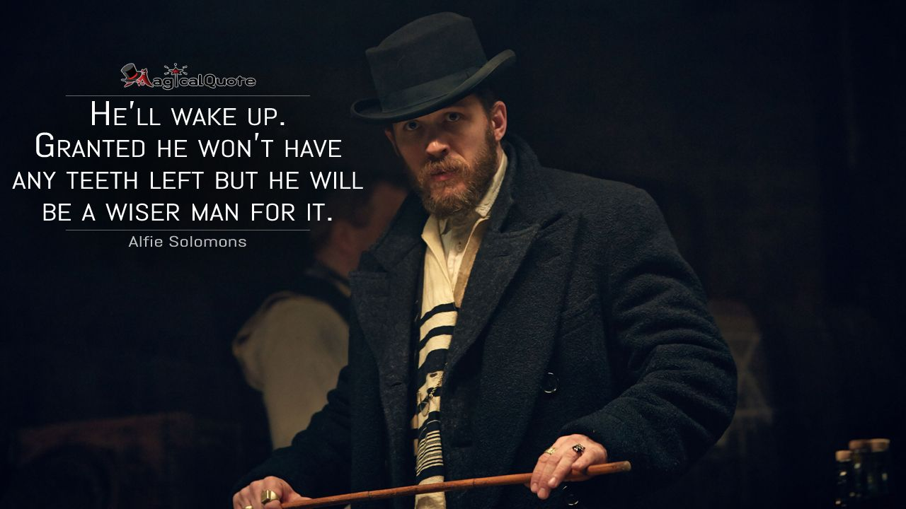 Pin by MagicalQuote on TV Show Quotes | Peaky blinders ...