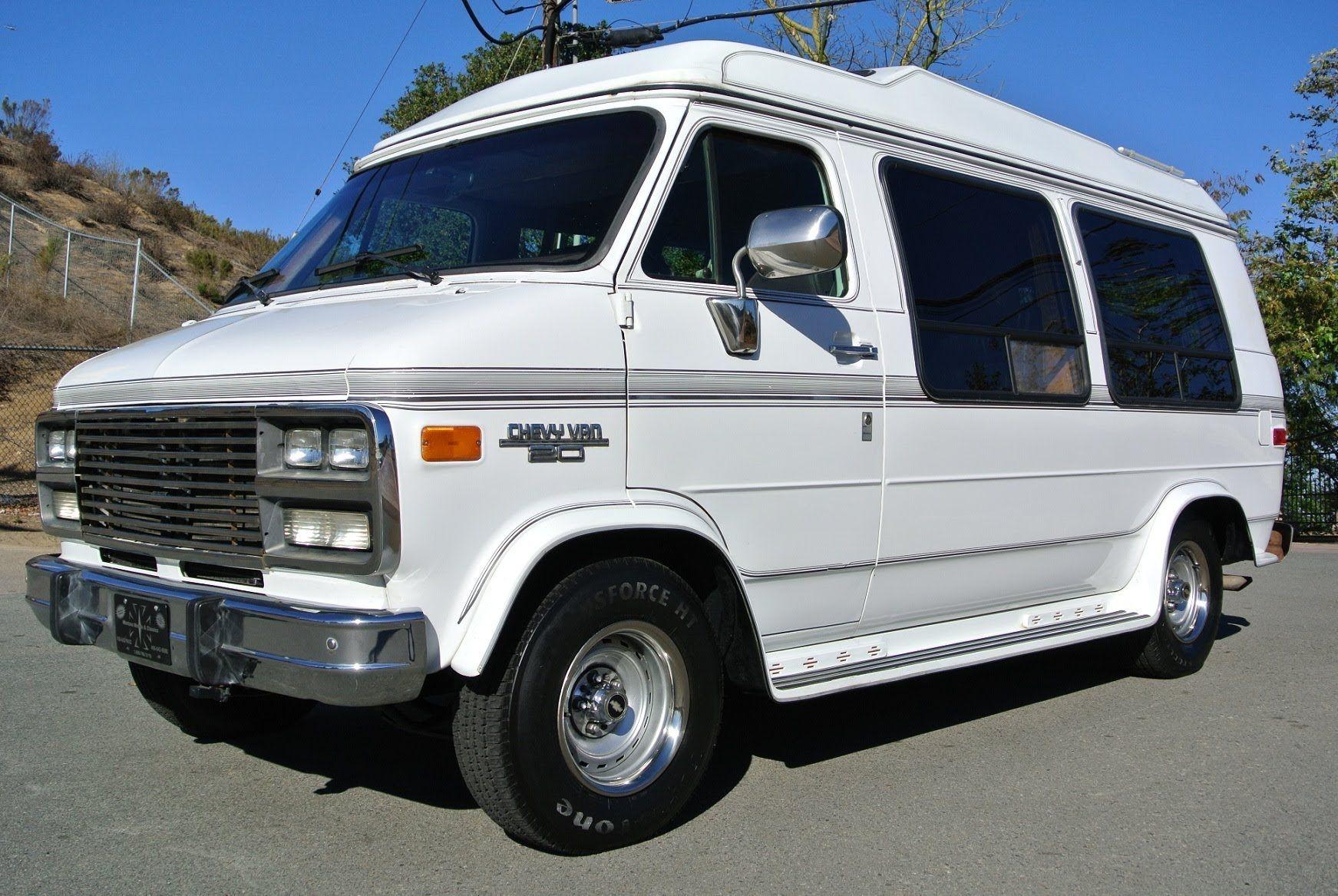 Chevrolet G20 Conversion Van Solar Mini Rv 350 Explorer W Bed Suv High Chevrolet Van Custom Camper Vans Chevy Van