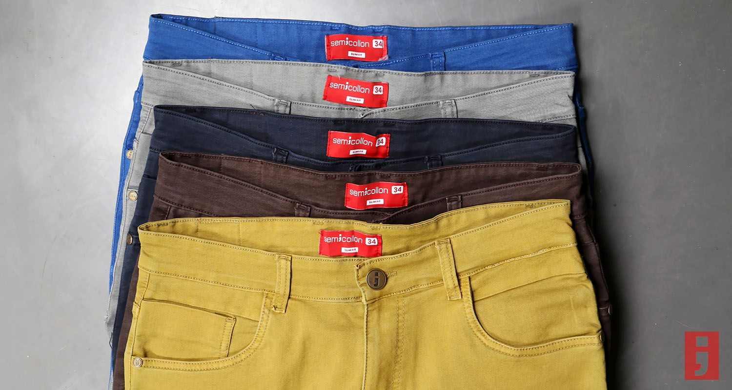 Semicollon Lightweight Jeans in FIVE colours