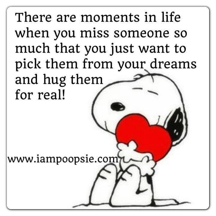 Missing Someone Snoopy Quotes Snoopy Snoopy Funny
