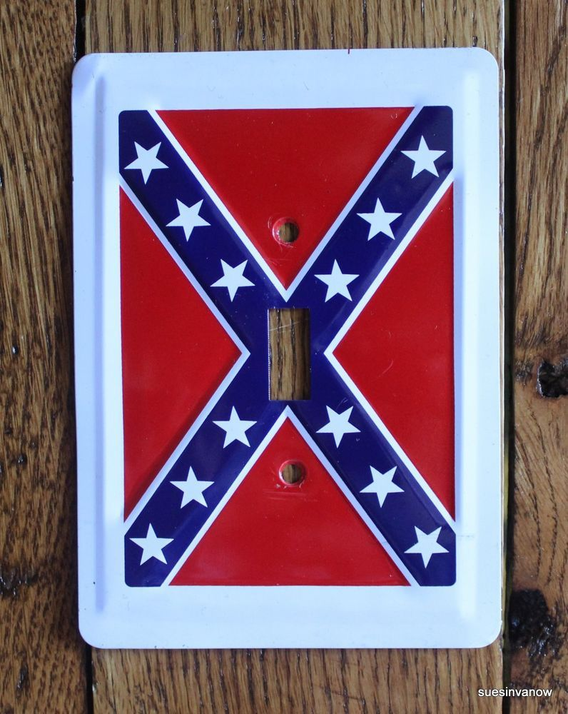 New Rebel Battle Flag Confederate Light Switch Plate Cover Home Decorators Catalog Best Ideas of Home Decor and Design [homedecoratorscatalog.us]