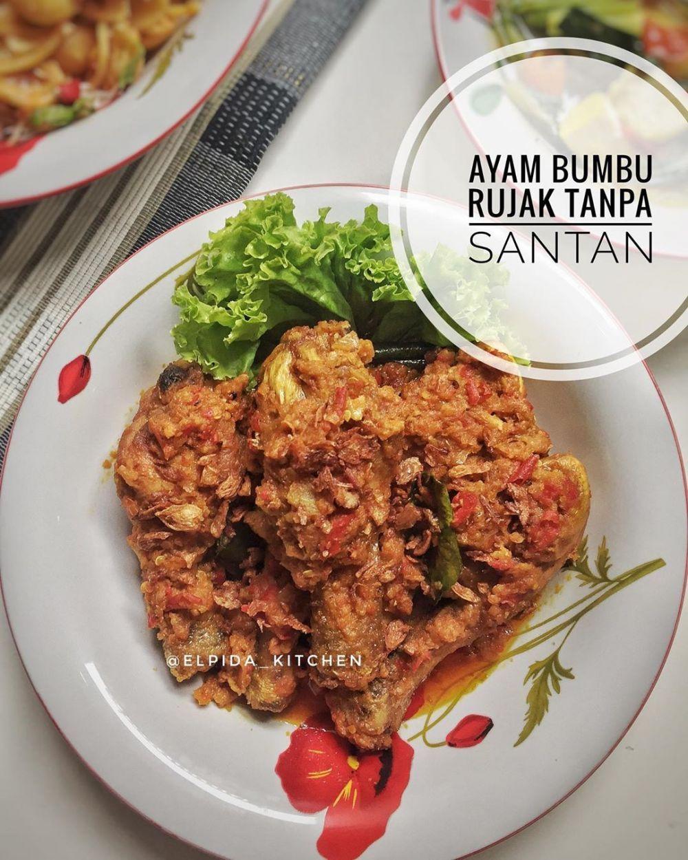 Ayam Bumbu Rujak Instagram Resep Ayam Resep Makanan Dan Minuman