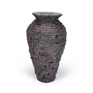 Shop for Stacked Slate Urn Fountain Kit. Get free shipping at Overstock.com - Your Online Garden