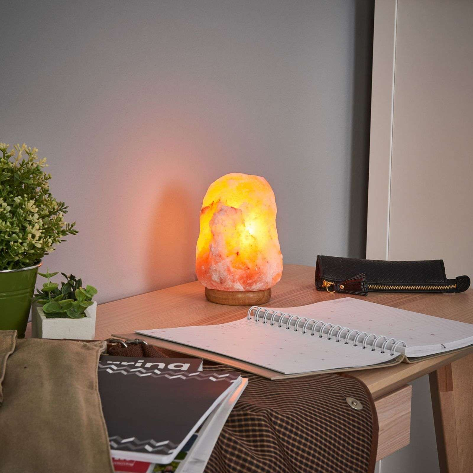 ROCK lampada salina luce rilassante 3 kg