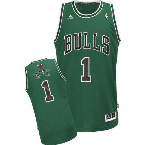 271498b28d5a Adidas Chicago Bulls Derrick Rose Youth (Sizes 8-20) St. Pat s Revolution  30 Swingman Jersey adidas.  54.30