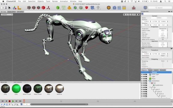 Macos New App Release Cheetah3d 7 0 Interior Design Software