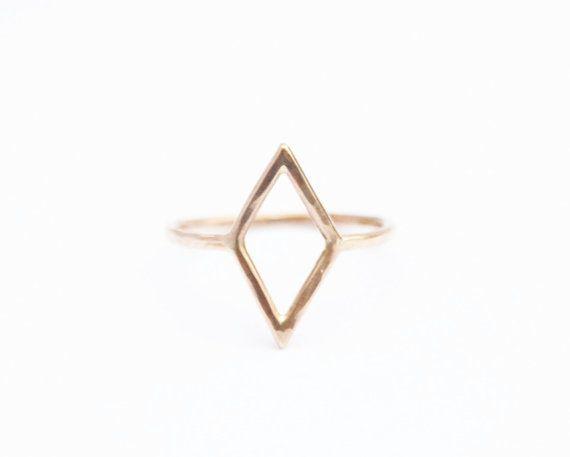 14K oro diamante, diamante forma anillo, anillo de oro, oro rosa, oro amarillo, oro blanco fino