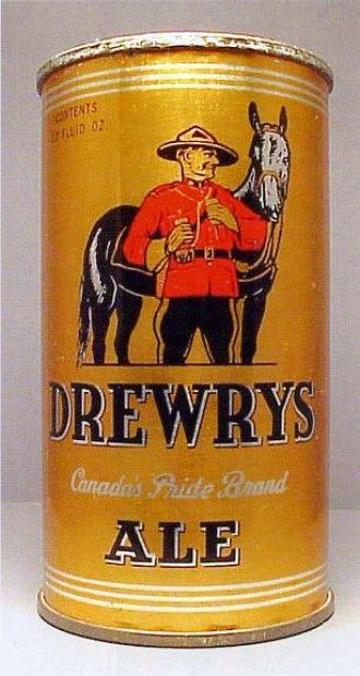 Drewry S Beer South Bend In 1940 Cerveja Latas
