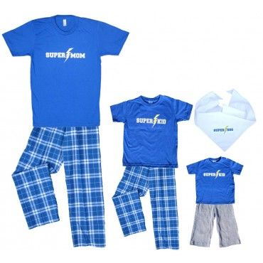 0030d88ad4 SUPER MOM and SUPER KID Matching Mother and Child Clothing Sets ...